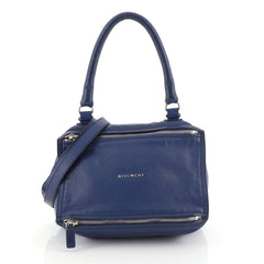 Givenchy Pandora Bag Leather Small Blue 449363