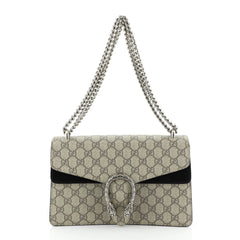 Gucci Dionysus Bag GG Coated Canvas Small Black 449951