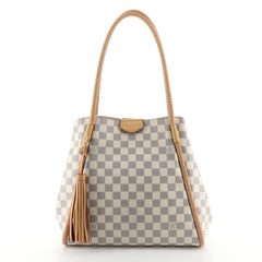 Louis Vuitton Propriano Handbag Damier White 450032