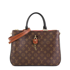 Louis Vuitton Millefeuille Handbag Monogram Canvas and Leather  Red 4500351