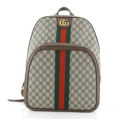 Gucci Ophidia Backpack GG Coated Canvas Medium