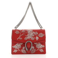 Gucci Dionysus Bag Painted Leather Medium Red 450566