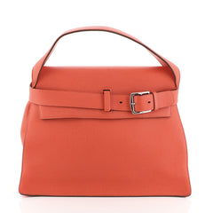 Hermes Etribelt Handbag Togo Red 45111100