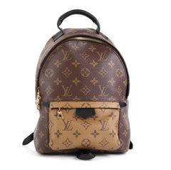 Louis Vuitton Palm Springs Backpack Reverse Monogram Canvas PM Brown 4511113