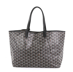 Goyard St. Louis Tote Coated Canvas PM Brown 4511143