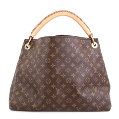 Louis Vuitton Artsy Handbag Monogram Canvas MM Brown 4511158