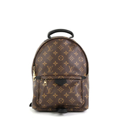 Louis Vuitton Palm Springs Backpack Monogram Canvas PM Brown 4511159