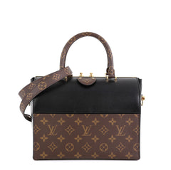 Louis Vuitton Speedy Doctor Bag Monogram Canvas and Leather 25 Black 4511166