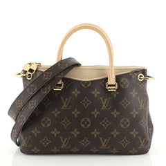 Louis Vuitton Pallas Tote Monogram Canvas BB Brown 451732