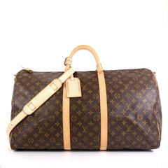 Louis Vuitton Keepall Bandouliere Bag Monogram Canvas 55