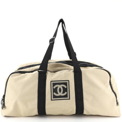 Chanel Sport Line Duffle Bag Nylon XL