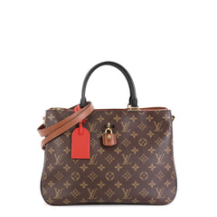 Louis Vuitton Millefeuille Handbag Monogram Canvas and Leather  Red 4531647