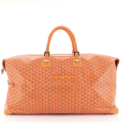 Goyard Boeing Travel Bag Coated Canvas 65 Orange 4537310