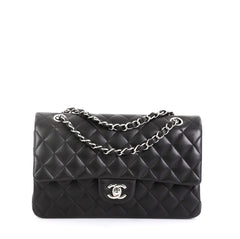 Classic Double Flap Bag Quilted Lambskin Medium