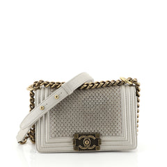 Scaled Boy Flap Bag Lambskin Small