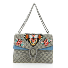Gucci Dionysus Bag Embellished GG Coated Canvas Medium