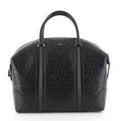 Givenchy Lucrezia Travel Bag Embossed Leather