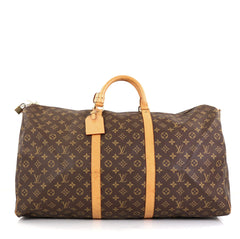 Louis Vuitton Keepall Bag Monogram Canvas 60 Brown 4551629