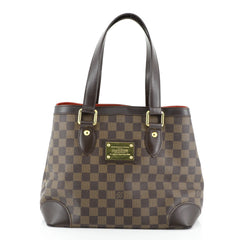 Louis Vuitton Hampstead Handbag Damier PM Brown 4551634