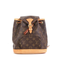 Louis Vuitton Montsouris Backpack Monogram Canvas PM
