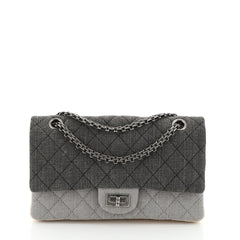 Chanel Tricolor Reissue 2.55 Flap Bag Quilted Denim 225 Blue 4552913