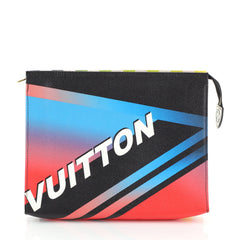 Louis Vuitton Toiletry Pouch Limited Edition Race Leather 26