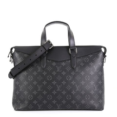 Louis Vuitton Explorer Briefcase Monogram Eclipse Canvas  Black 4560016