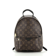 Louis Vuitton Palm Springs Backpack Monogram Canvas PM