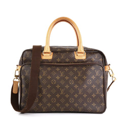 Louis Vuitton Icare Laptop Bag Monogram Canvas Brown 456015