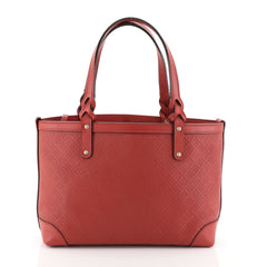 Gucci Craft Tote Diamante Leather Small Red 457086