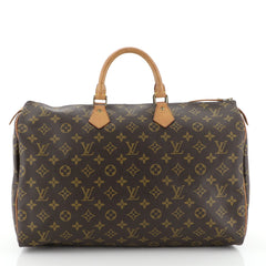 Speedy Handbag Monogram Canvas 40