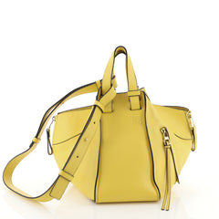 Loewe Hammock Bag Leather Small Yellow 458781
