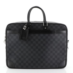 Louis Vuitton Porte-Documents Voyage Briefcase Damier Graphite GM