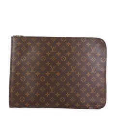 Louis Vuitton Poche Documents Monogram Canvas Brown 4596921