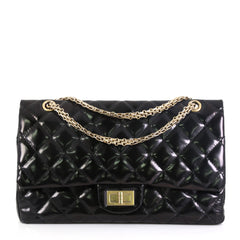 Chanel Reissue 2.55 Flap Bag Quilted Patent 227