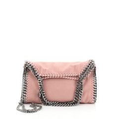 Stella McCartney Falabella Fold Over Crossbody Bag Shaggy Deer Mini