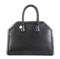 Stella McCartney Falabella Box Top Handle Bag Faux Leather East West