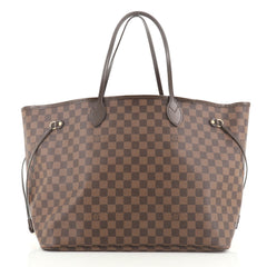 Louis Vuitton Neverfull NM Tote Damier GM