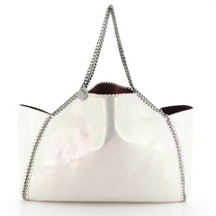 Stella McCartney Falabella Reversible Tote Shaggy Deer Large