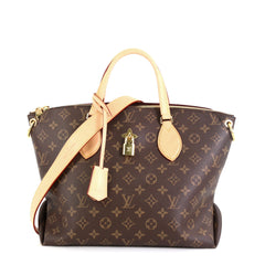 Louis Vuitton Flower Zipped Tote Monogram Canvas MM