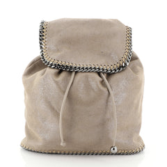 Stella McCartney Falabella Backpack Shaggy Deer Medium Neutral 4607201