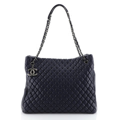Chanel New Bubble Tote Quilted Calfskin Large