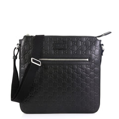 Gucci Signature Messenger Guccissima Leather