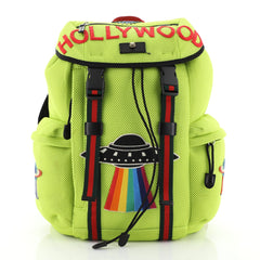 Gucci Techpack Backpack Embroidered Techno Canvas