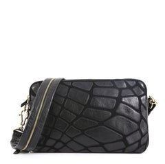 Chanel Scales Camera Bag Leather with Jersey