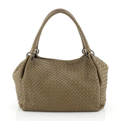 Bottega Veneta Parachute Handbag Intrecciato Nappa Medium