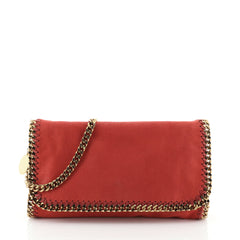 Stella McCartney Falabella Flap Bag Shaggy Deer Small
