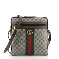 Gucci Ophidia Messenger Bag GG Coated Canvas Medium