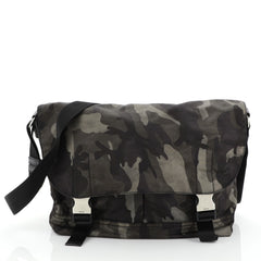 Camouflage Messenger Bag Tessuto Medium