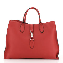 Gucci Jackie Soft Tote Leather Large